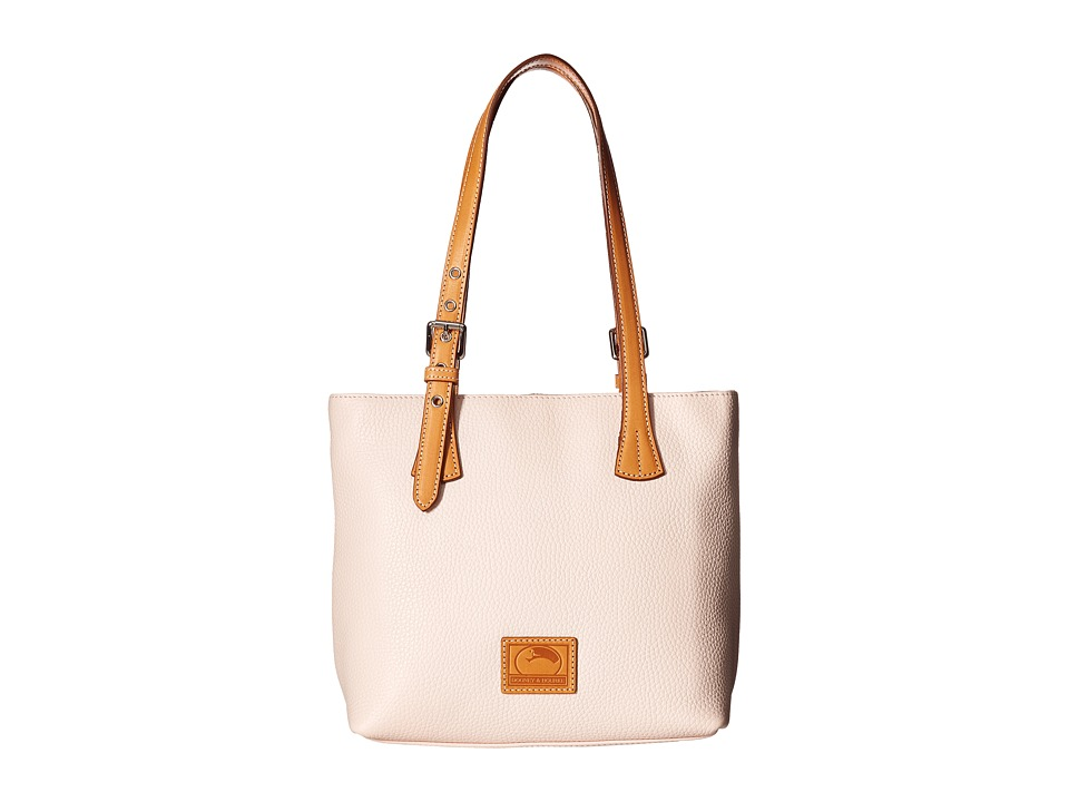 Dooney & Bourke - Patterson Emily Shoulder Bag (Blush w/ Butterscotch Trim) Cross Body Handbags