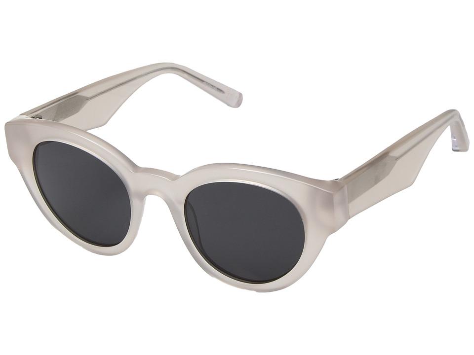 Elizabeth and James - Payton (White Smoke/Smoke Mono Lens) Fashion Sunglasses