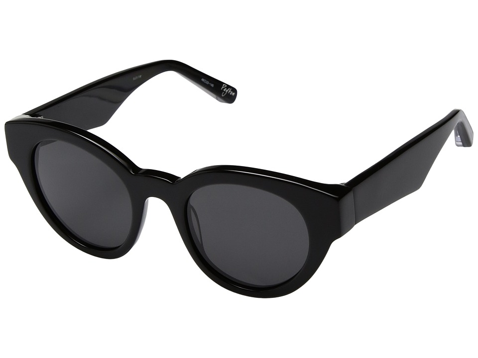 Elizabeth and James - Payton (Black/Smoke Mono Lens) Fashion Sunglasses