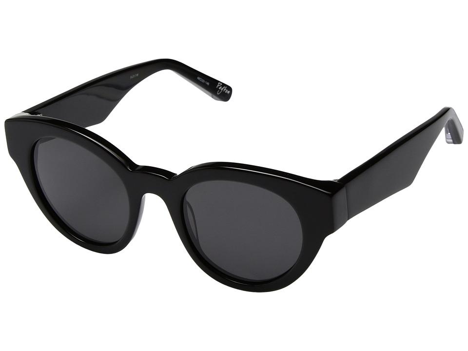 Elizabeth and James - Payton (Black/Smoke Mono Lens) Fashion Sunglasses