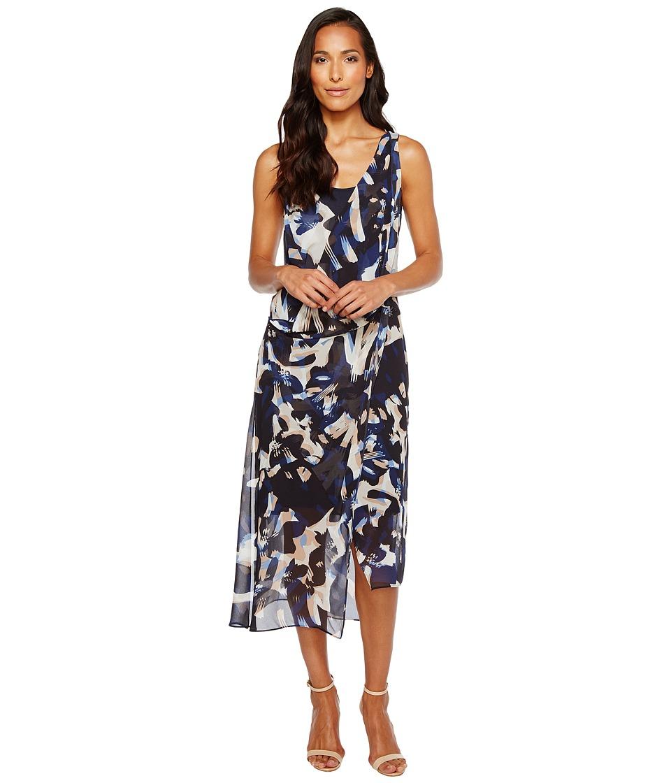 NIC+ZOE - Shadowbloom Dress (Multi) Women's Dress