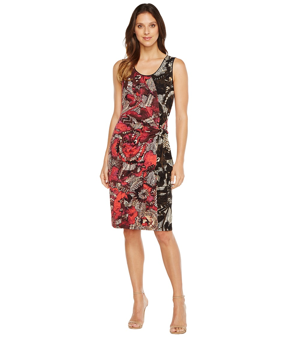 NIC+ZOE - Etched Floral Dress (Multi) Women's Dress