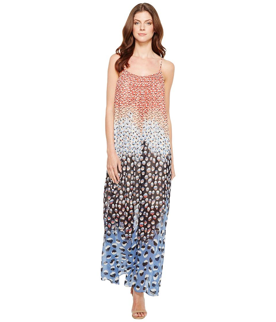NIC+ZOE Blue Dahlia Dress (Multi) Women