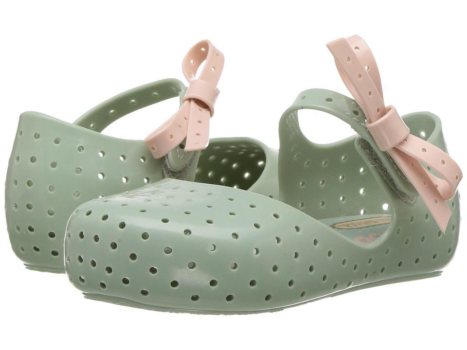 Mini Melissa - Mini Furadinha X (Toddler/Little Kid) (Blue/Red) Girl's Shoes