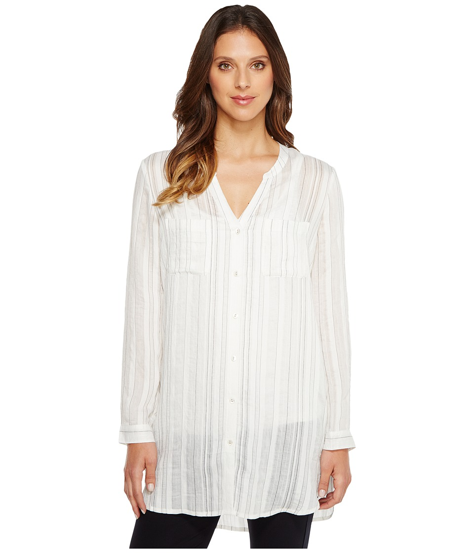 NIC+ZOE - Pinstripe Top (Multi) Women's Clothing