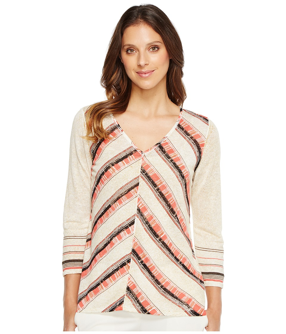 NIC+ZOE - Fire Cracker Top (Multi) Women's Clothing