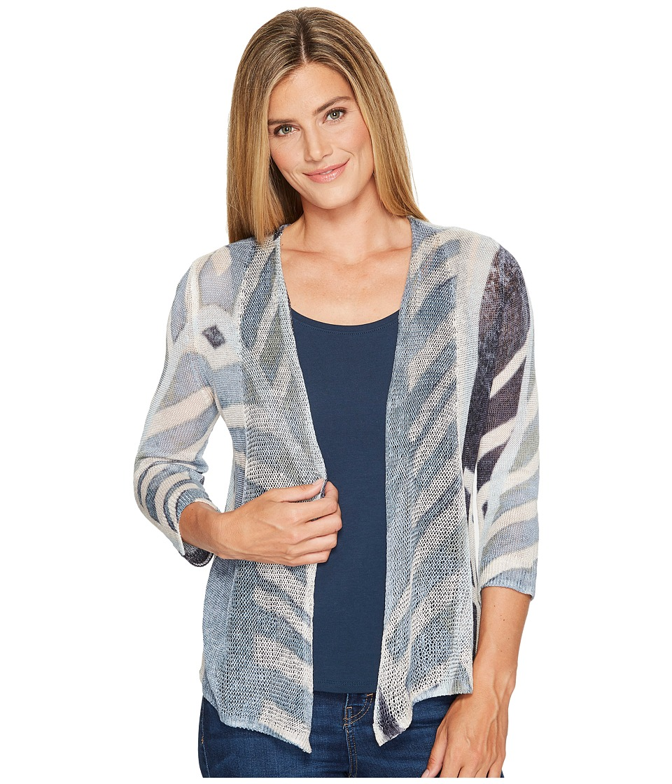 NIC+ZOE - Shore Pine Cardy (Multi) Women's Sweater