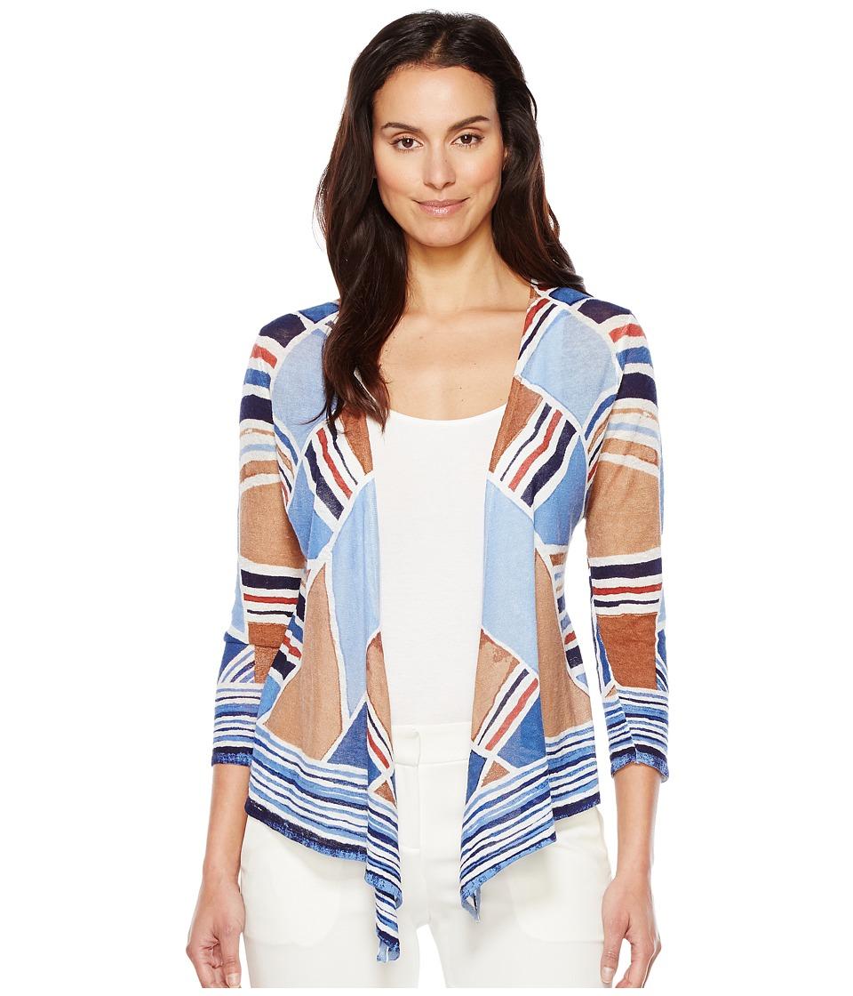NIC+ZOE - Seaglass Cardy (Multi) Women's Sweater