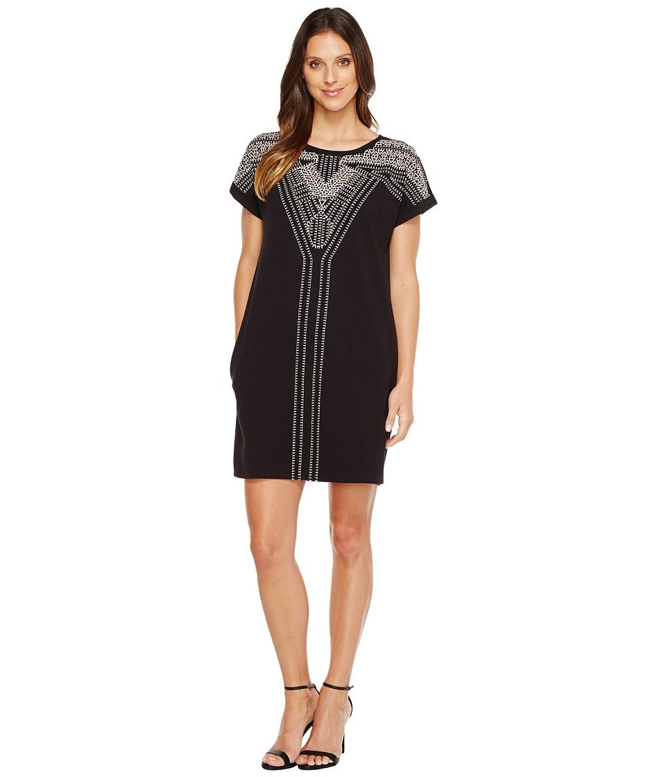 NIC+ZOE - Havana Nights Dress (Black Onyx) Women's Dress