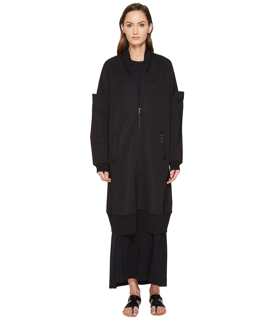 adidas Y-3 by Yohji Yamamoto - SP Lux Bomber Jacket (Black) Women's Coat