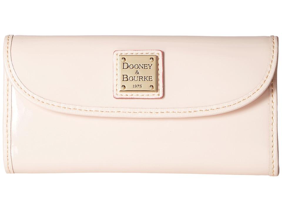 Dooney & Bourke - Patterson Continental Clutch (Blush w/ Blush Trim) Clutch Handbags