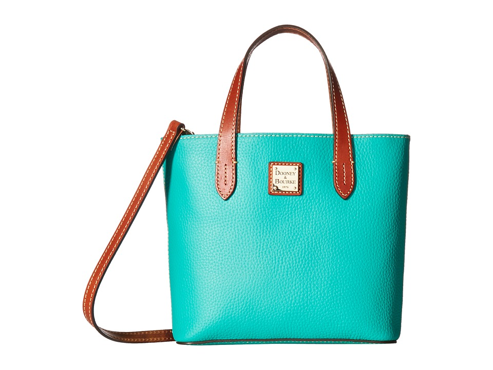 Dooney & Bourke - Pebble Mini Waverly (Spearmint w/ Tan Trim) Handbags
