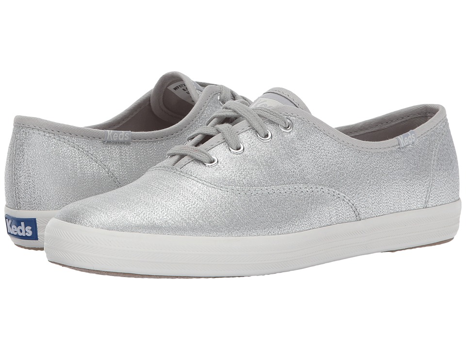 Keds - Champion Lurex (Silver) Women's Shoes