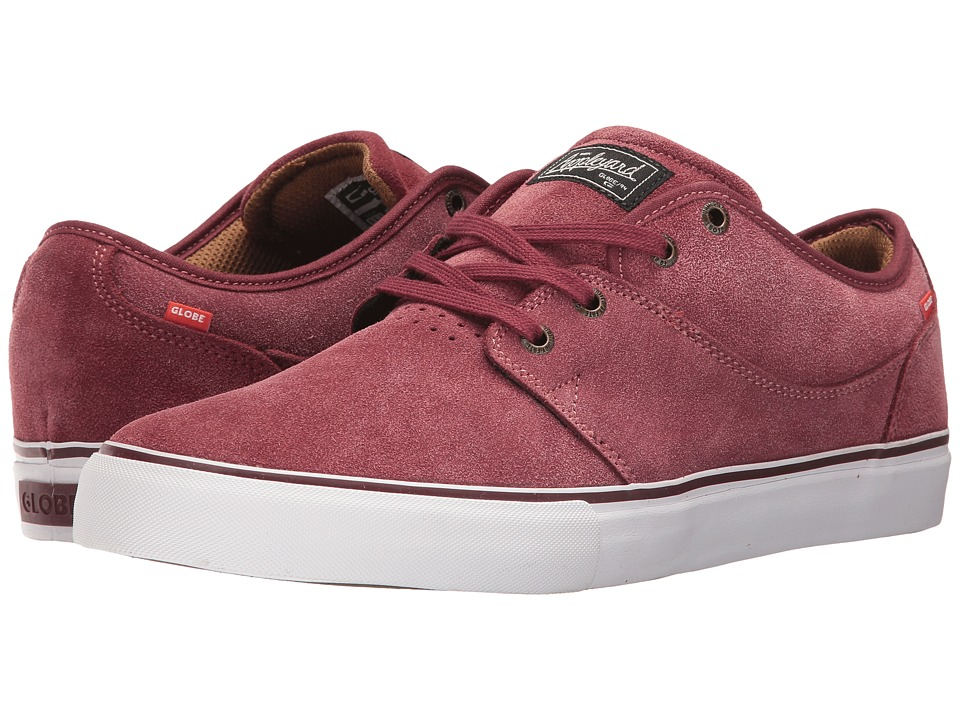 Globe - Mahalo (Burgundy) Men's Skate Shoes