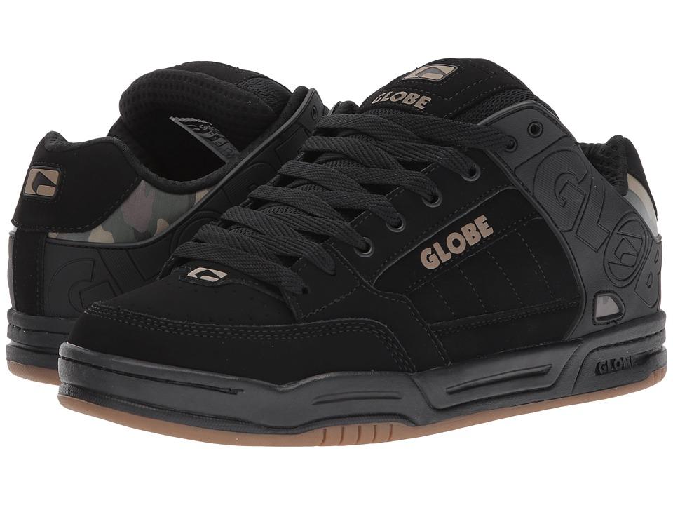 Globe - Tilt (Black/Camo) Men's Skate Shoes