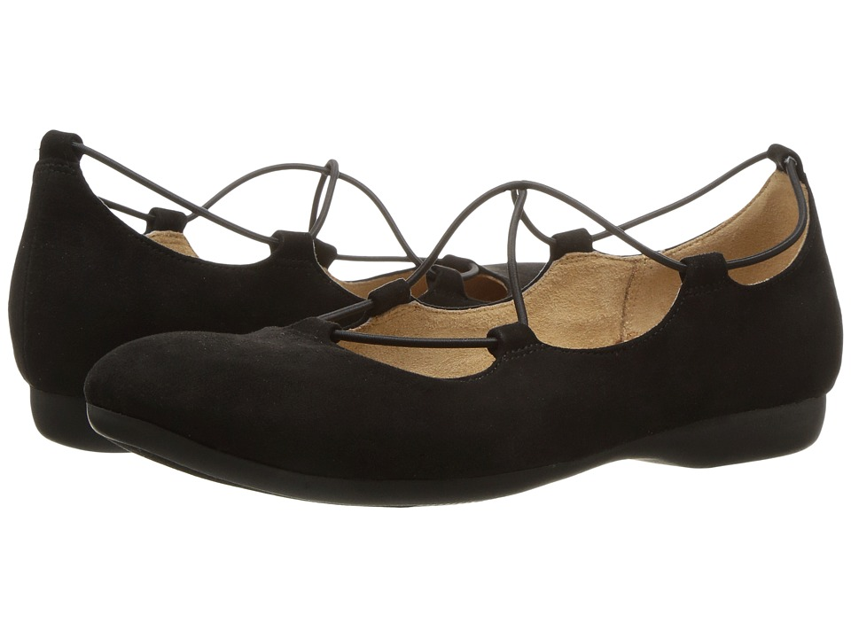 Naturalizer - Carah (Black Microfiber) Women's Shoes