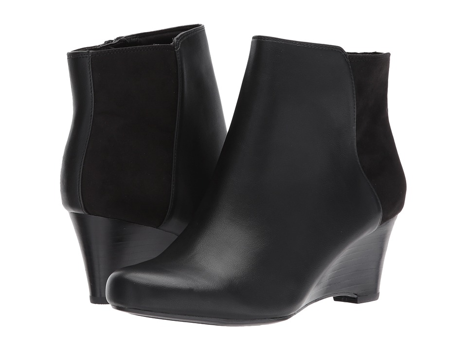 Naturalizer - Hilma (Black Smooth) Women's Shoes