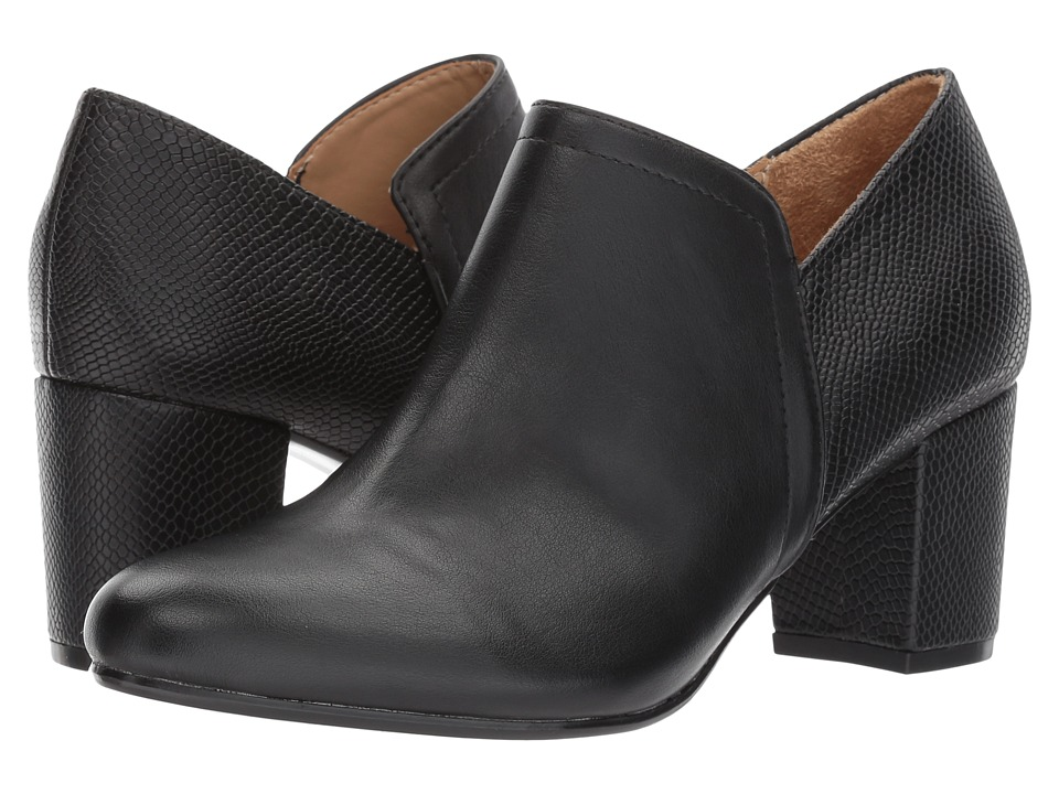 Naturalizer - Misha (Black Smooth) Women's Shoes