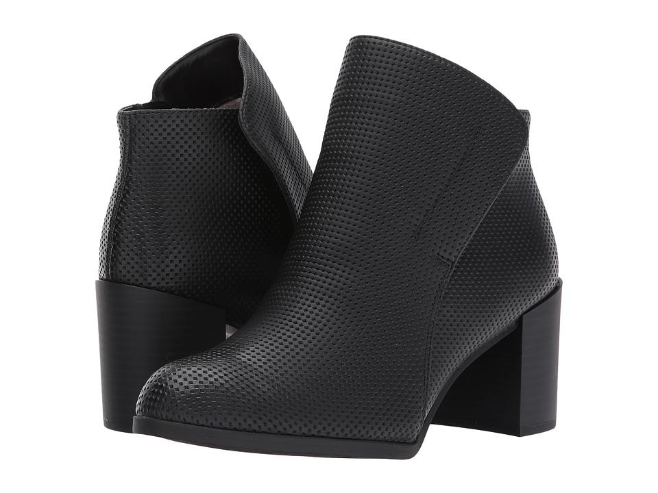 Naturalizer - Holt (Black Nubuck) Women's Wedge Shoes