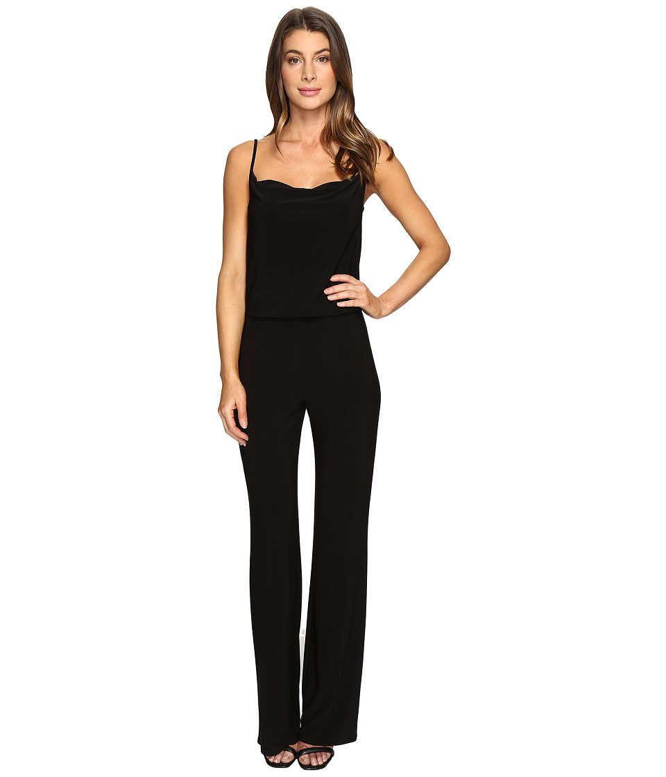 Laundry by Shelli Segal - Spaghetti Strap Jumpsuit (Black) Women's Jumpsuit & Rompers One Piece