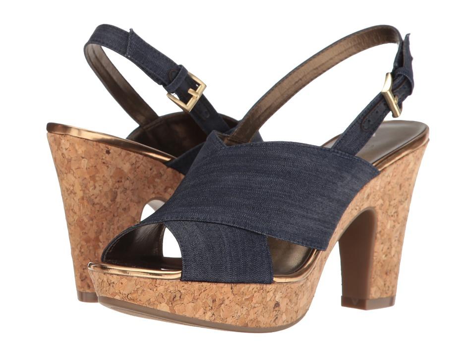 Bandolino - Mopina (Denim) Women's Shoes