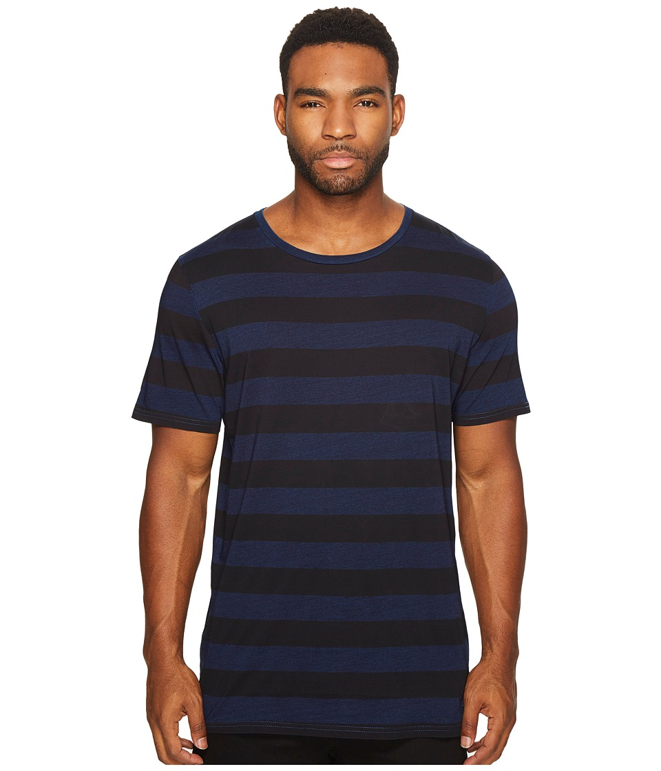 Globe - Moonshine Tee (Lead Stripe) Men's T Shirt