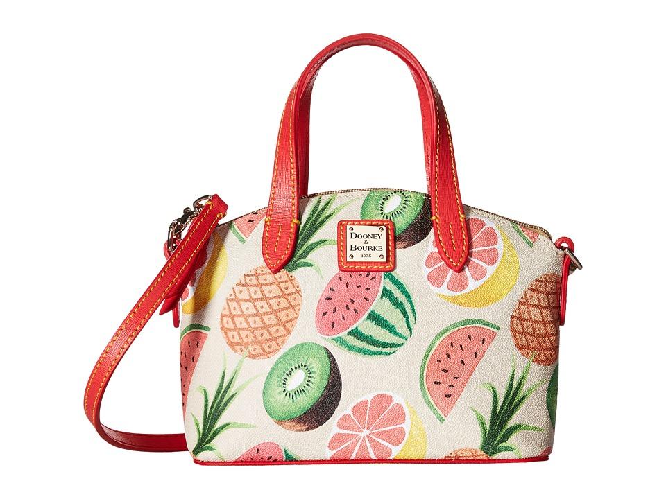 Dooney & Bourke - Ambrosia Ruby Bag (Beige w/ Tomato Trim) Handbags