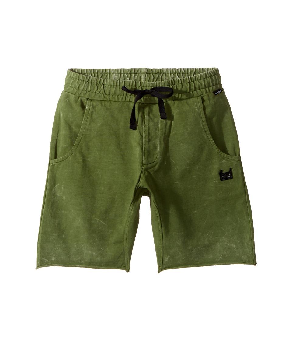 Munster Kids - Kash Walkshorts (Toddler/Little Kids/Big Kids) (Pigment Olive) Boy's Shorts