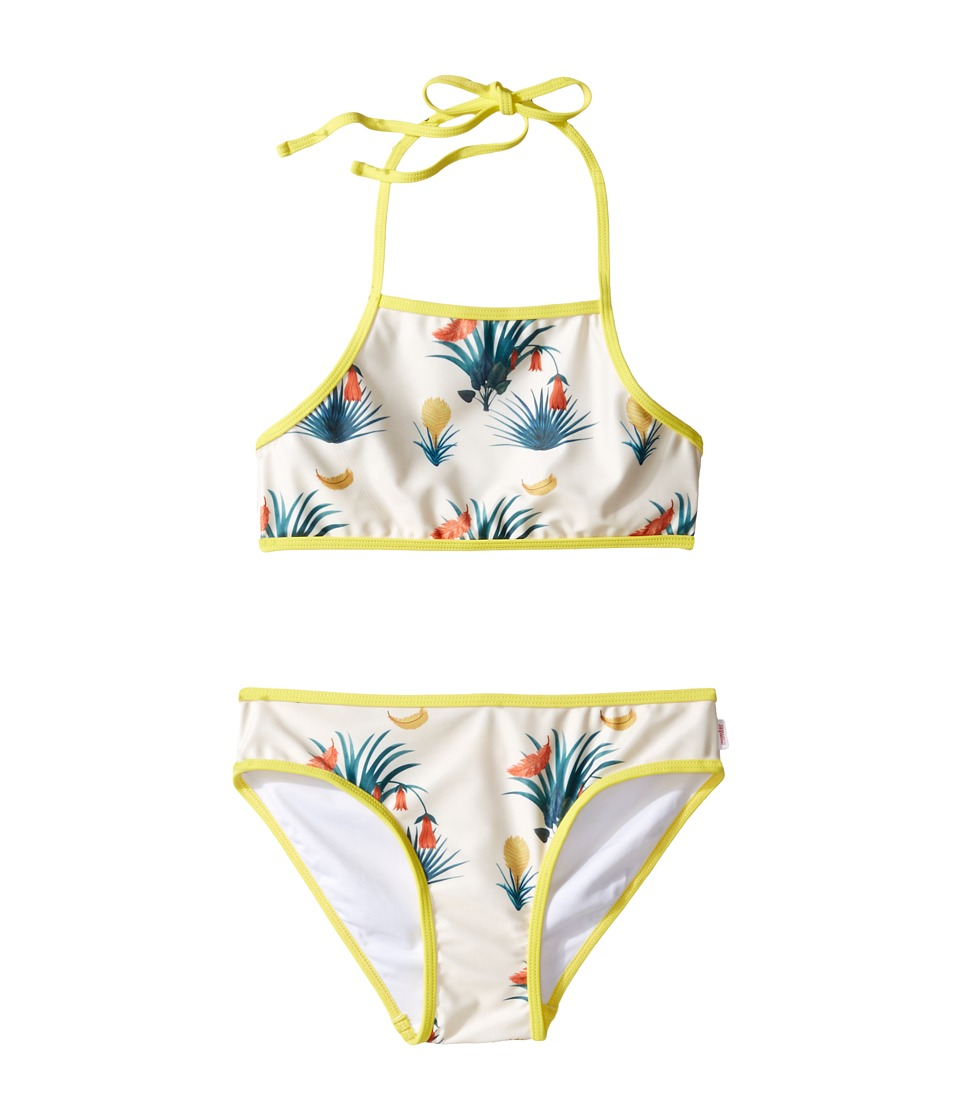 Munster Kids - Madras Bikini Bottom(Toddler/Little Kids/Big Kids) (Tropics) Girl's Swimwear Sets