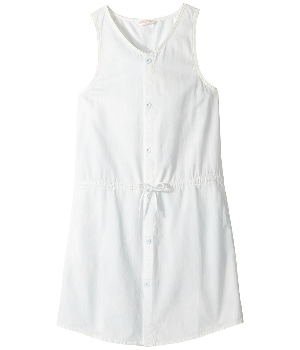 Munster Kids - Agent 99 Dress (Big Kids) (Bleach Blue) Girl's Dress