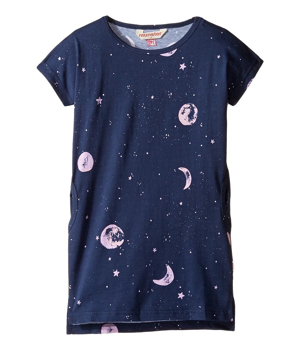 Munster Kids - Twinkle Dress (Toddler/Little Kids/Big Kids) (Midnight) Girl's Dress
