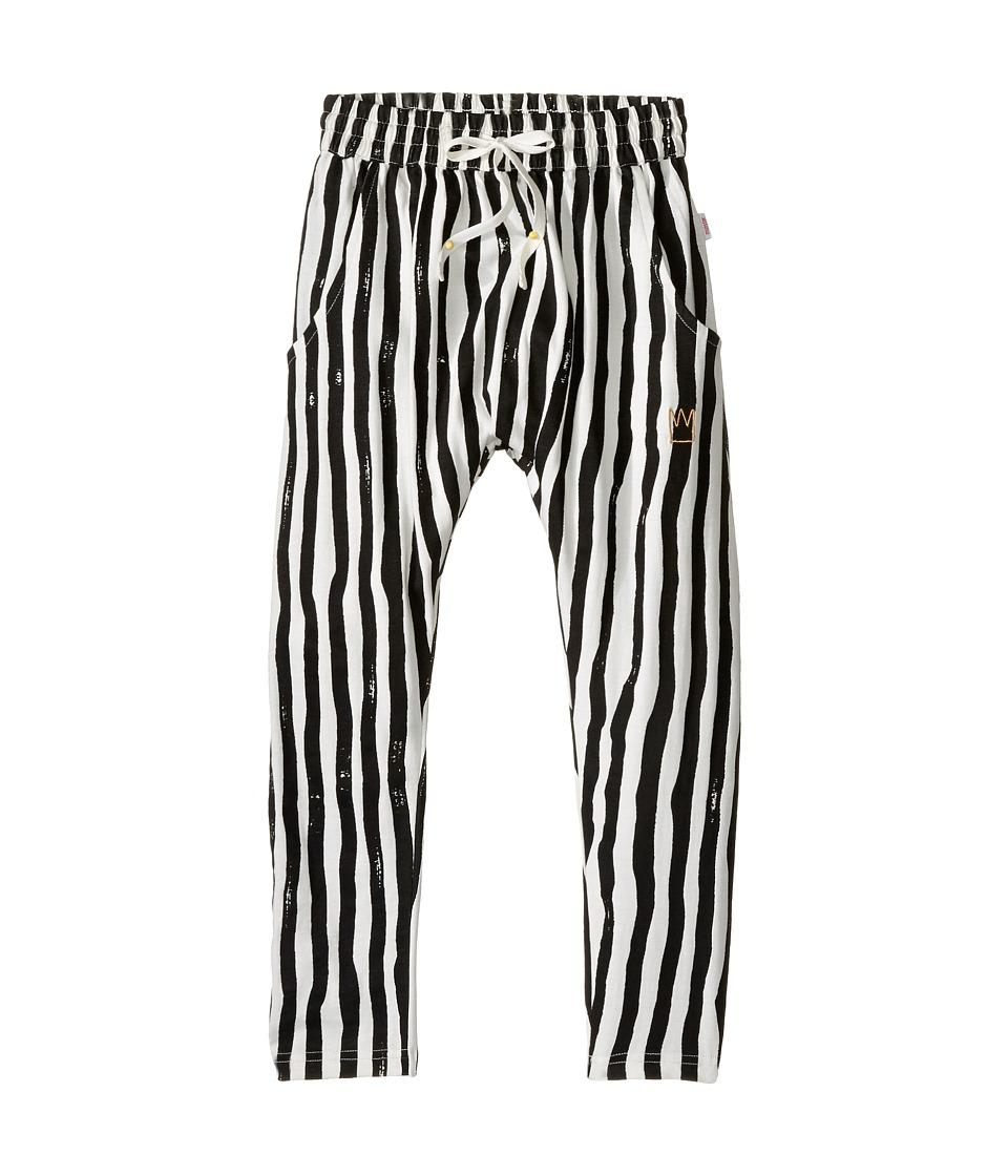 Munster Kids - Carnival Pants (Toddler/Little Kids/Big Kids) (Charcoal Stripe) Girl's Casual Pants