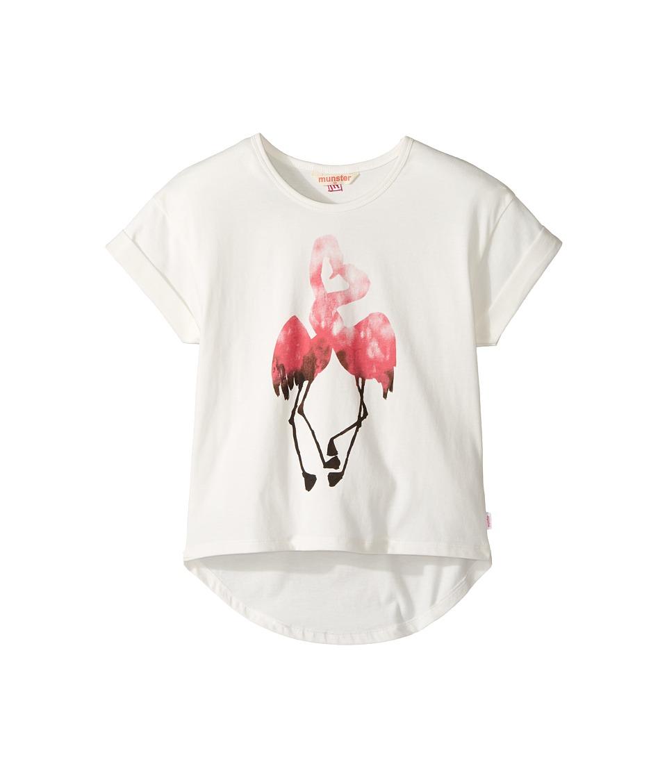 Munster Kids - Florida Tee (Toddler/Little Kids/Big Kids) (Cream) Girl's T Shirt