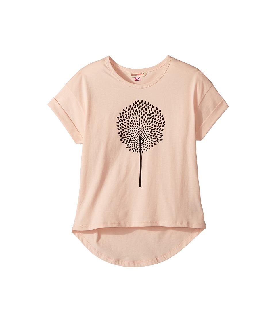 Munster Kids - Dreamer Tee (Toddler/Little Kids/Big Kids) (Blush) Girl's T Shirt
