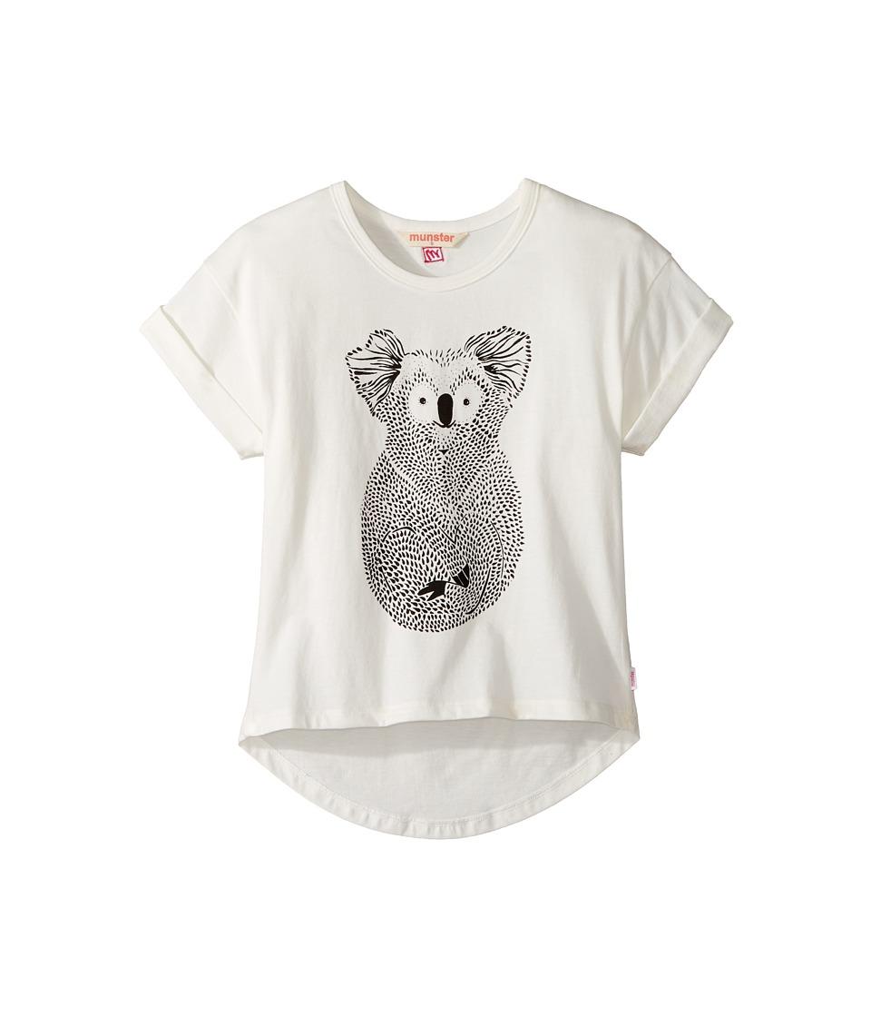 Munster Kids - Paws Tee (Toddler/Little Kids/Big Kids) (Cream) Girl's T Shirt