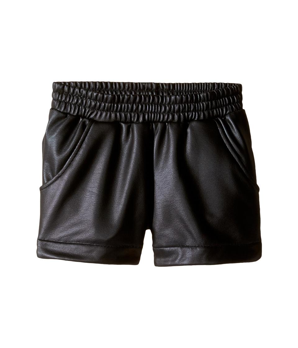 Munster Kids - VIP Walkshorts (Toddler/Little Kids/Big Kids) (Black) Girl's Shorts