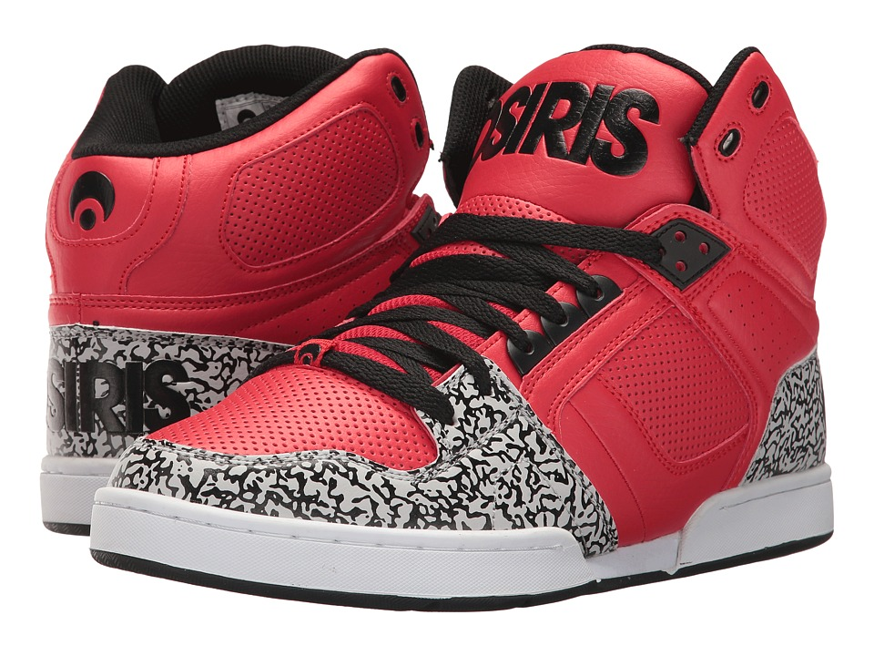 Osiris - NYC83 (Red/Elephant) Men's Skate Shoes
