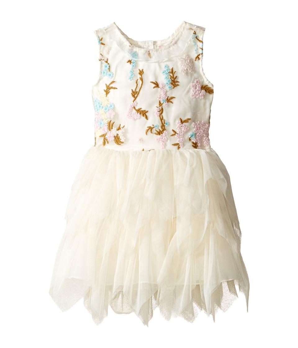 Nanette Lepore Kids - Embroidered Bodice Ballerina Dress (Infant) (Off-White) Girl's Dress