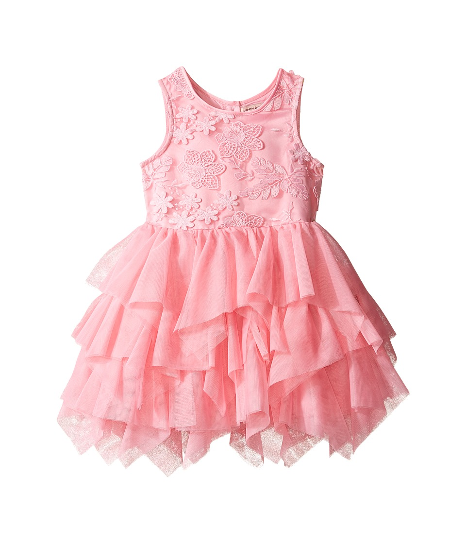 Nanette Lepore Kids - Embroidered Ballerina Dress (Infant) (Pink) Girl's Dress