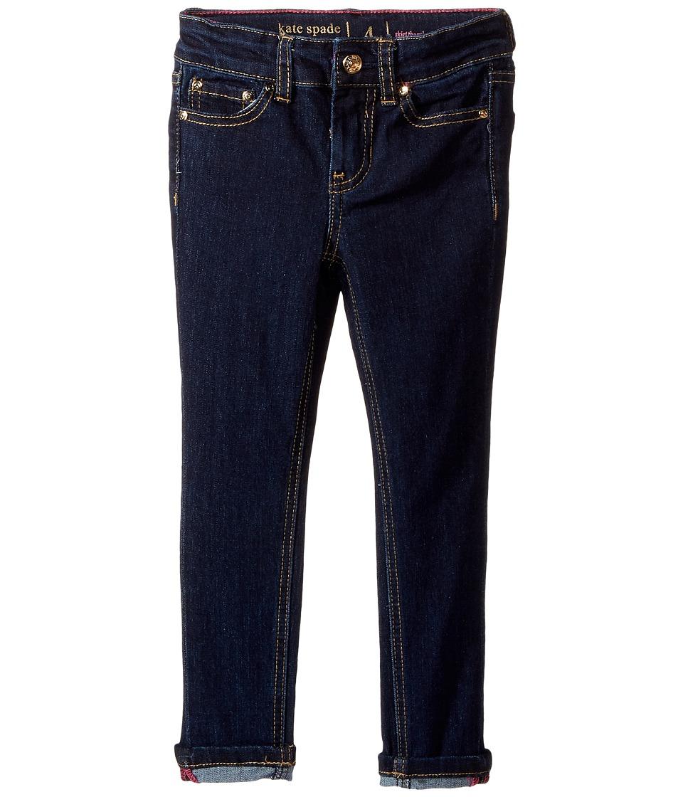 Kate Spade New York Kids - Skinny Jeans in Denim Indigo (Toddler/Little Kids) (Denim Indigo) Girl's Jeans