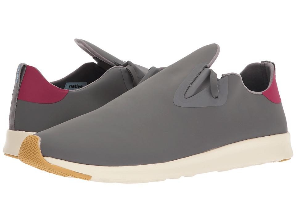 Native Shoes Apollo Moc (Dublin Grey/Root Red/Bone White/Natural Rubber) Shoes