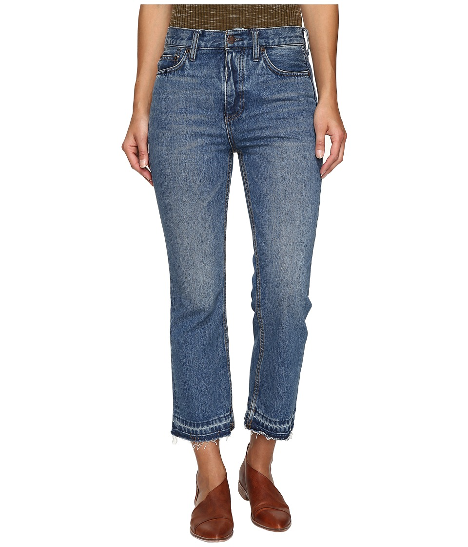 Free People Cropped Boot Jeans in Blue (Blue) Women