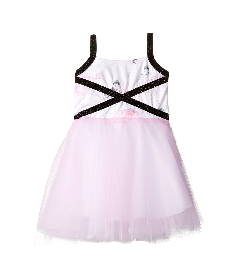 fiveloaves twofish - Degas Dancers Dress (Little Kids/Big Kids) (Pink) Girl's Dress