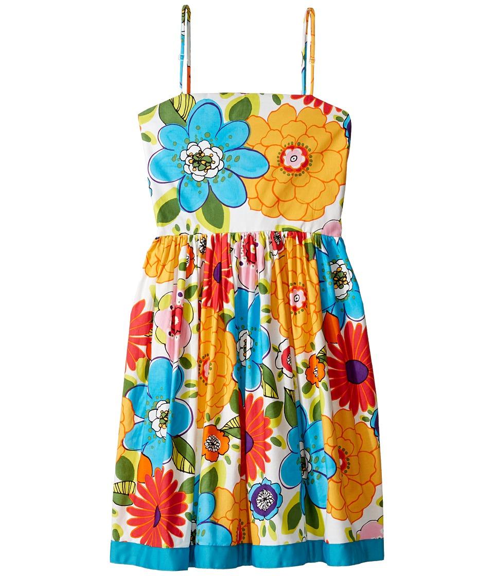 fiveloaves twofish - Ribbon Luau Party Dress (Big Kids) (Multi) Girl's Dress