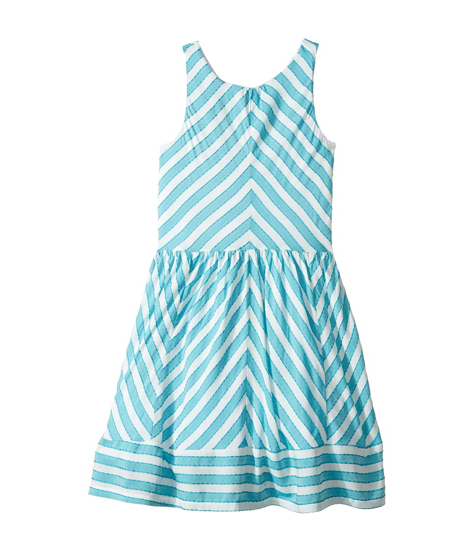 fiveloaves twofish - Moanni Dress (Little Kids/Big Kids) (Turquoise) Girl's Dress