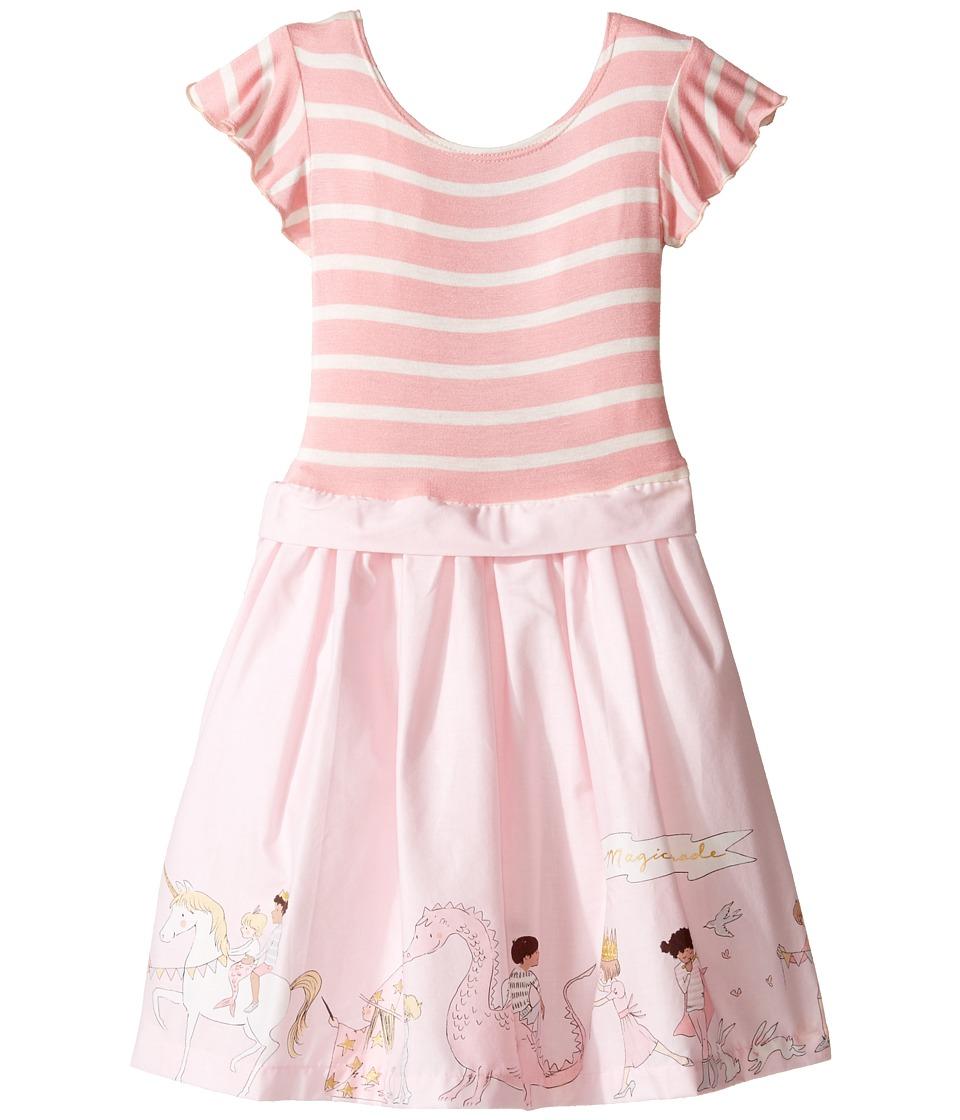 fiveloaves twofish - Parade Little Abbie Dress (Toddler/Little Kids) (Pink Stripe) Girl's Dress