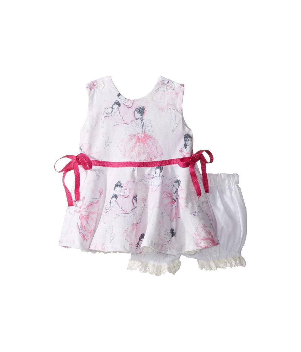 fiveloaves twofish - Degas Ballerina Party Dress (Infant) (White) Girl's Dress
