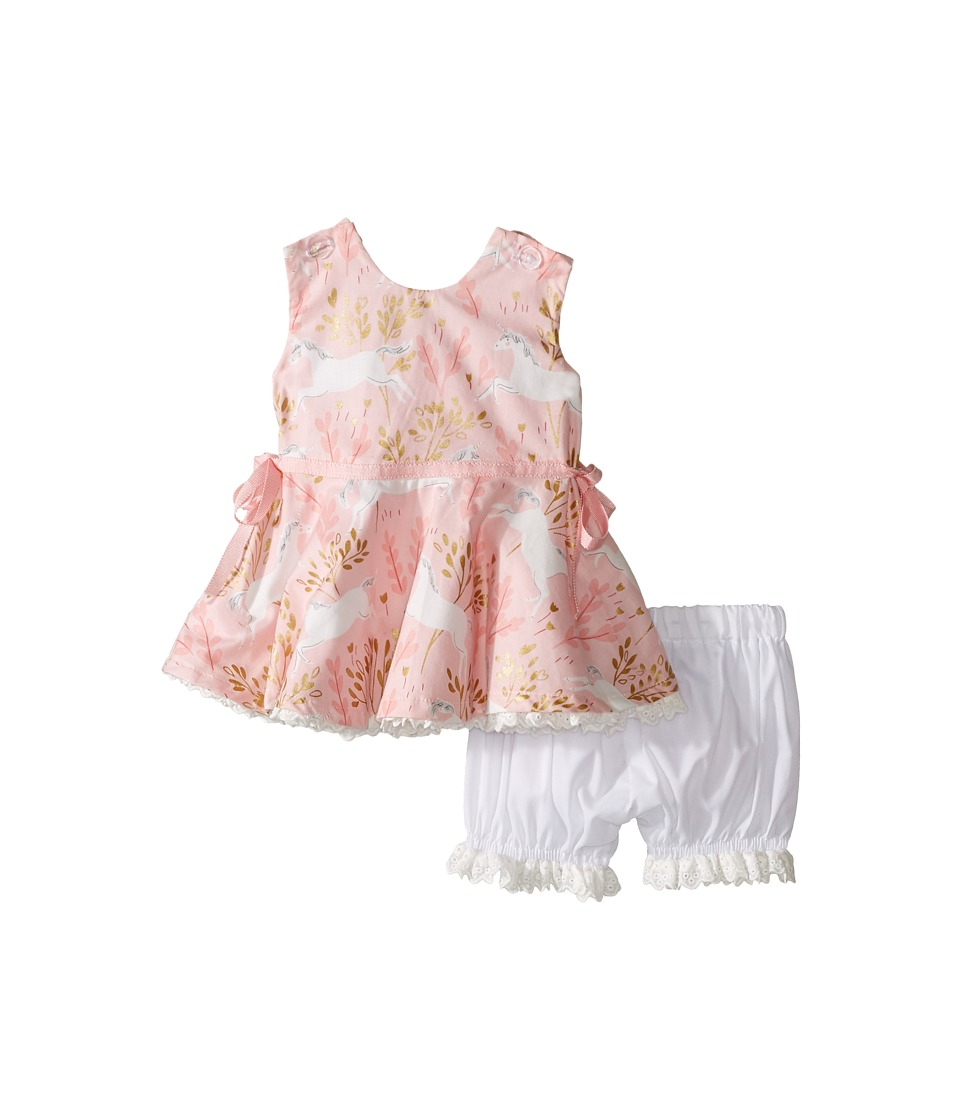 fiveloaves twofish - Ponies Little Party Dress (Infant) (Light Pink) Girl's Dress