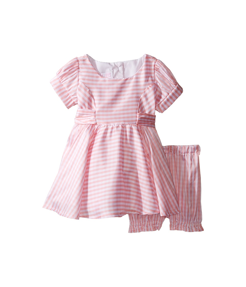 fiveloaves twofish - Lola Gingham Dress (Infant) (Pink Gingham) Girl's Dress