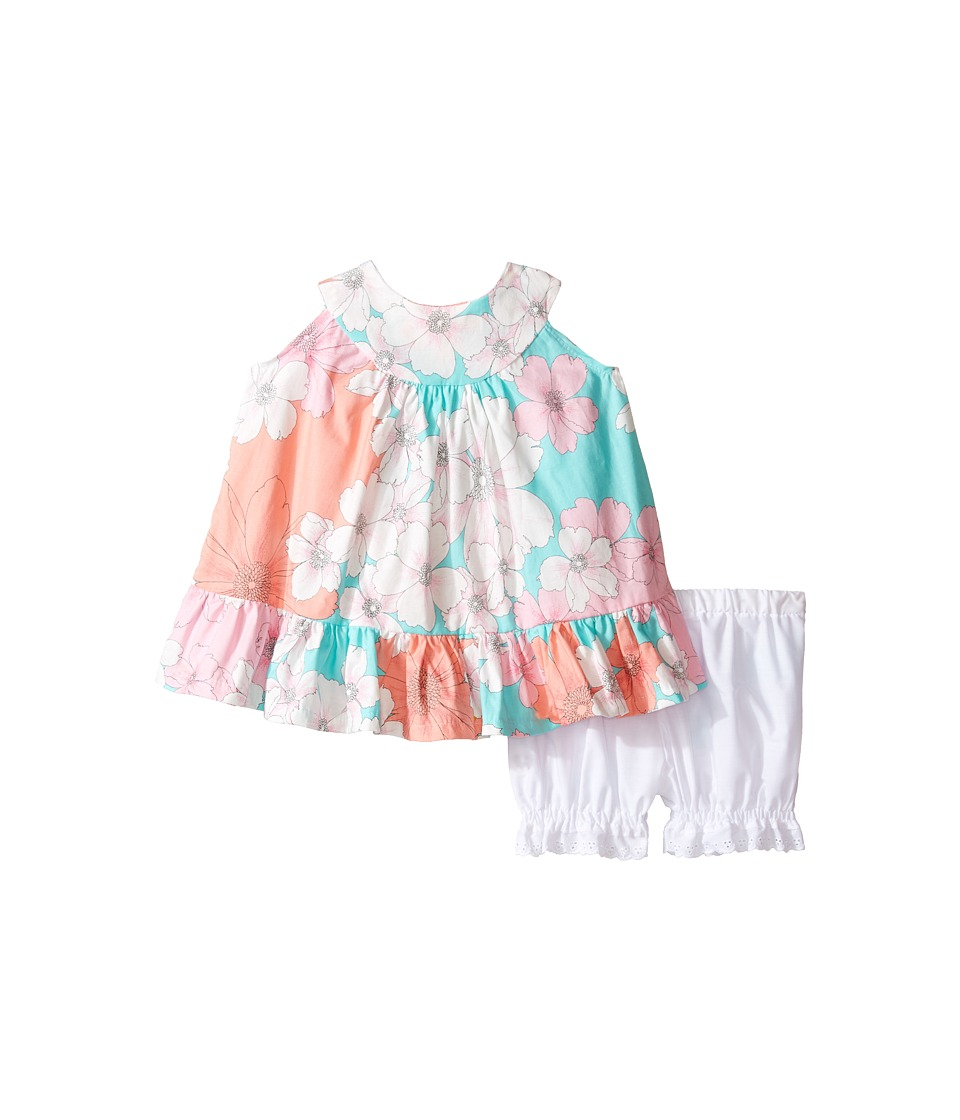 fiveloaves twofish - Hula Sun Dress (Infant) (Hula Mint) Girl's Dress